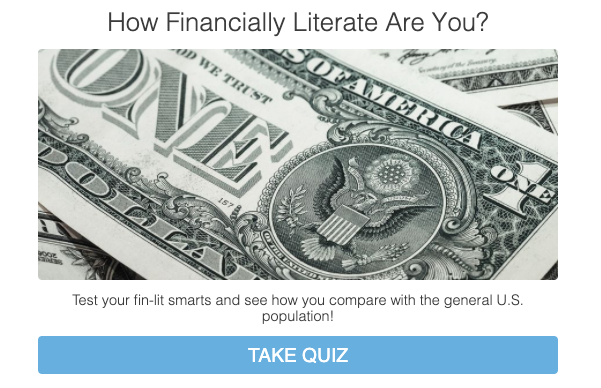 how financially literate are you cover