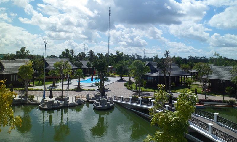 Khu nghỉ dưỡng sang trọng đầu tiên tại Cà Mau