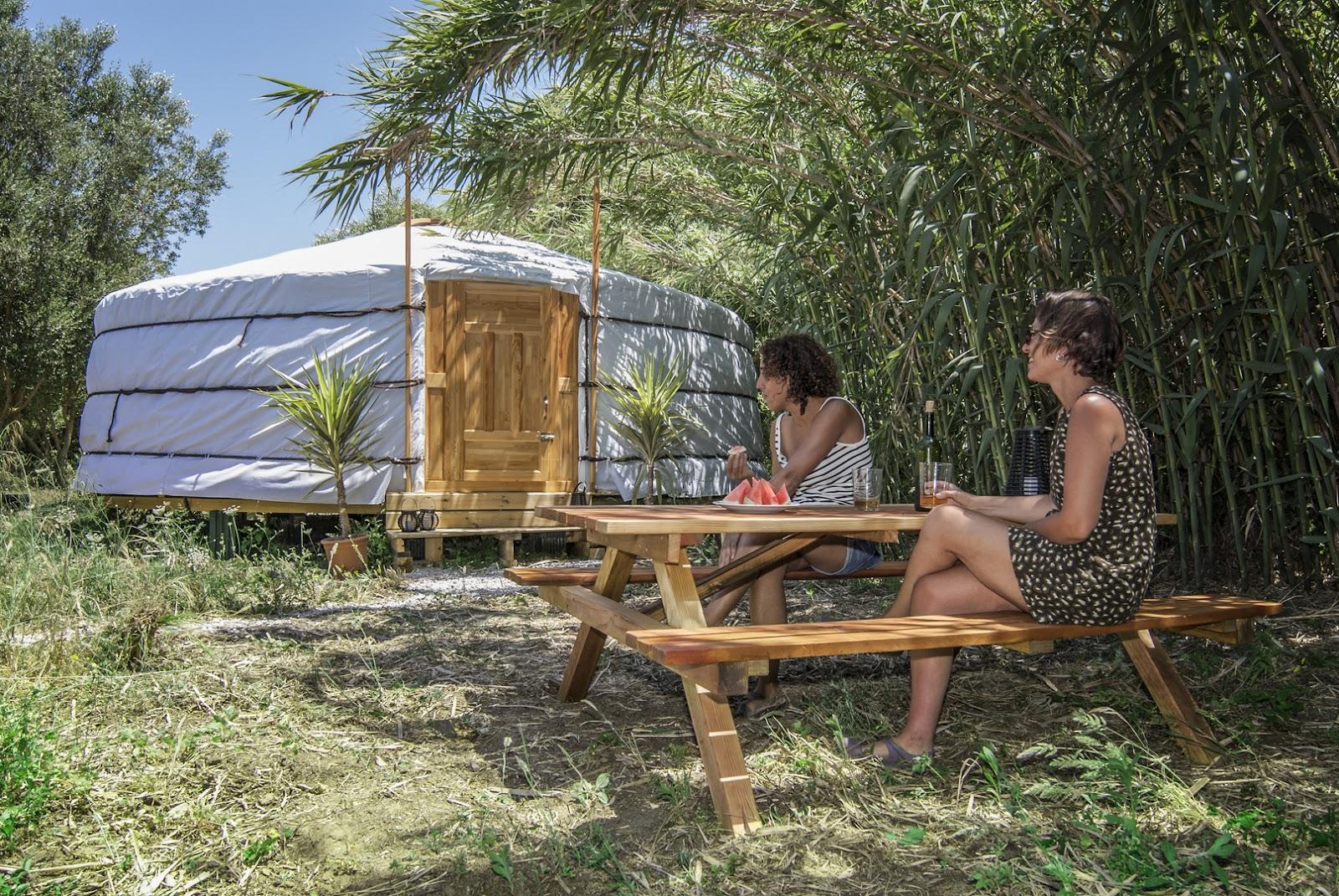 Where to go camping Mongolian Yurt Campspace Spain