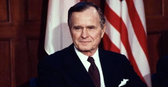 What did George H W Bush accomplish