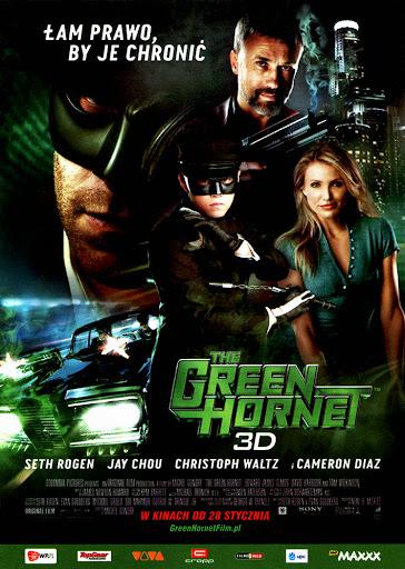 Przód ulotki filmu 'The Green Hornet'