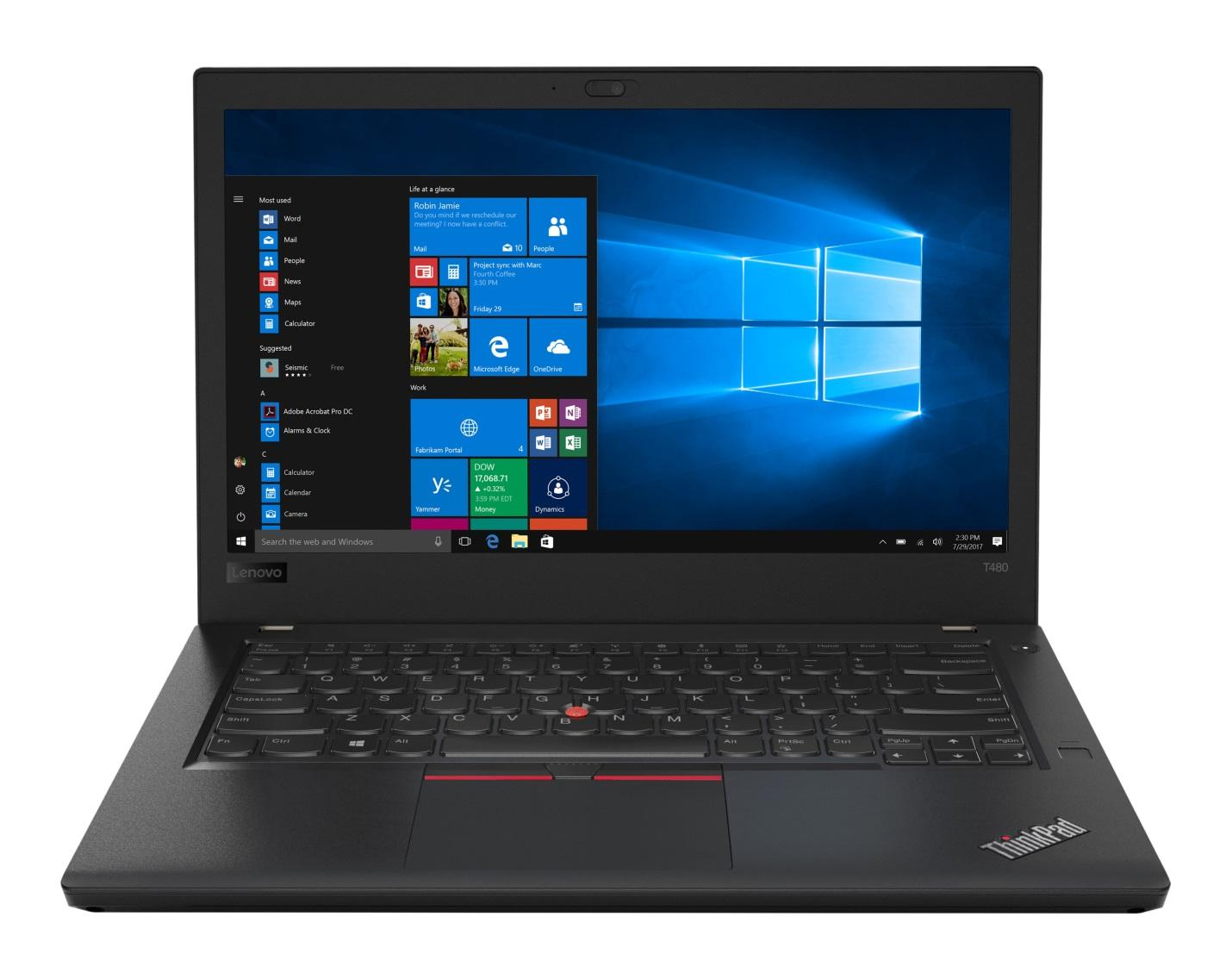 Фото 1. Ноутбук ThinkPad T480 (20L6S0DH18)