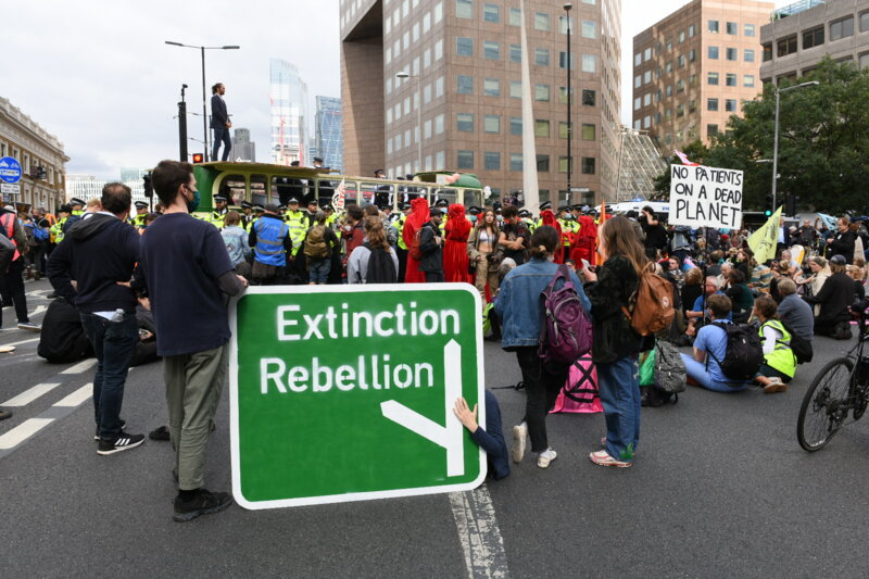 Road to extinction or diversion to rebellion