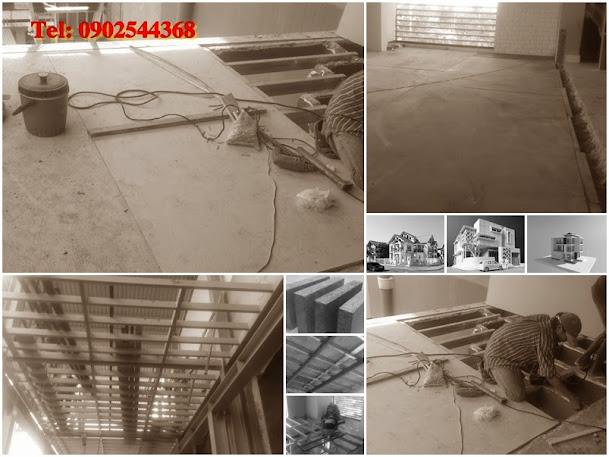 Tấm Lót Sàn Cemboard, Tấm Sàn Công Nghiệp, Sàn Xi Măng Thái Lan, Tấm 3D