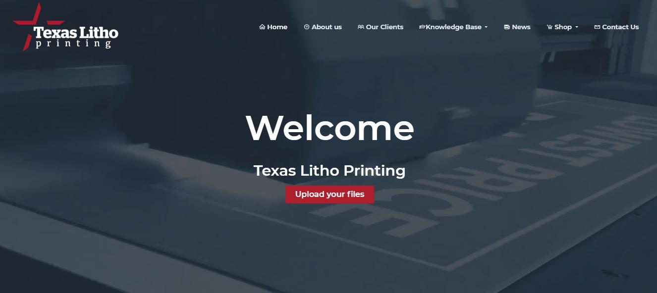 Texas Litho printing services in Houston, TX