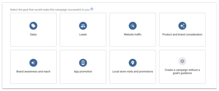 How to define your goals when creating search ads
