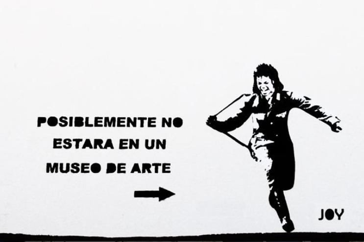 Michael Jackson - Valencia street art by JOY ( Image: JOY )