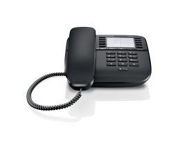 Gigaset - standardní telefon bez displeje, barva černá