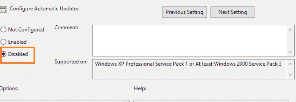 Turn OFf Windows 10 Updates with Gpedit.msc