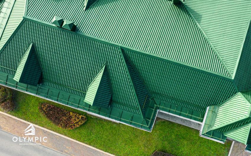 Tôn Olympic 11 sóng - Sự lựa chọn hoàn hảo cho mái nhà Việt