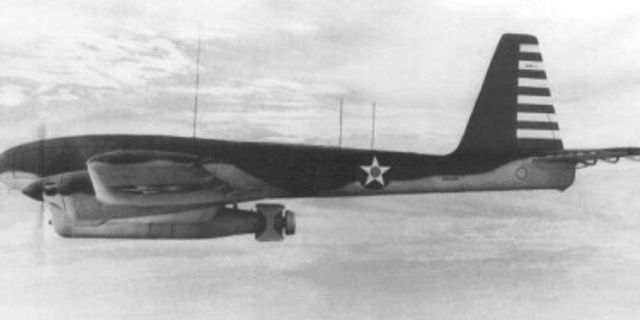 The drone that conducted the first airstrike in 1944