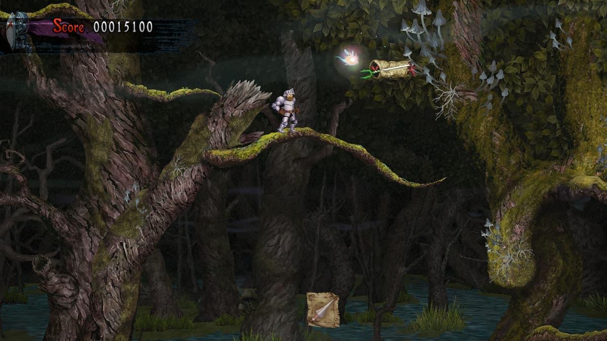 Ghosts 'n Goblins Resurrection Graveyard Bee 3