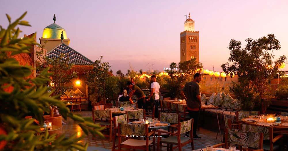 Kabana, rooftop food et cocktails en médina à Marrakech | LIFE is ...