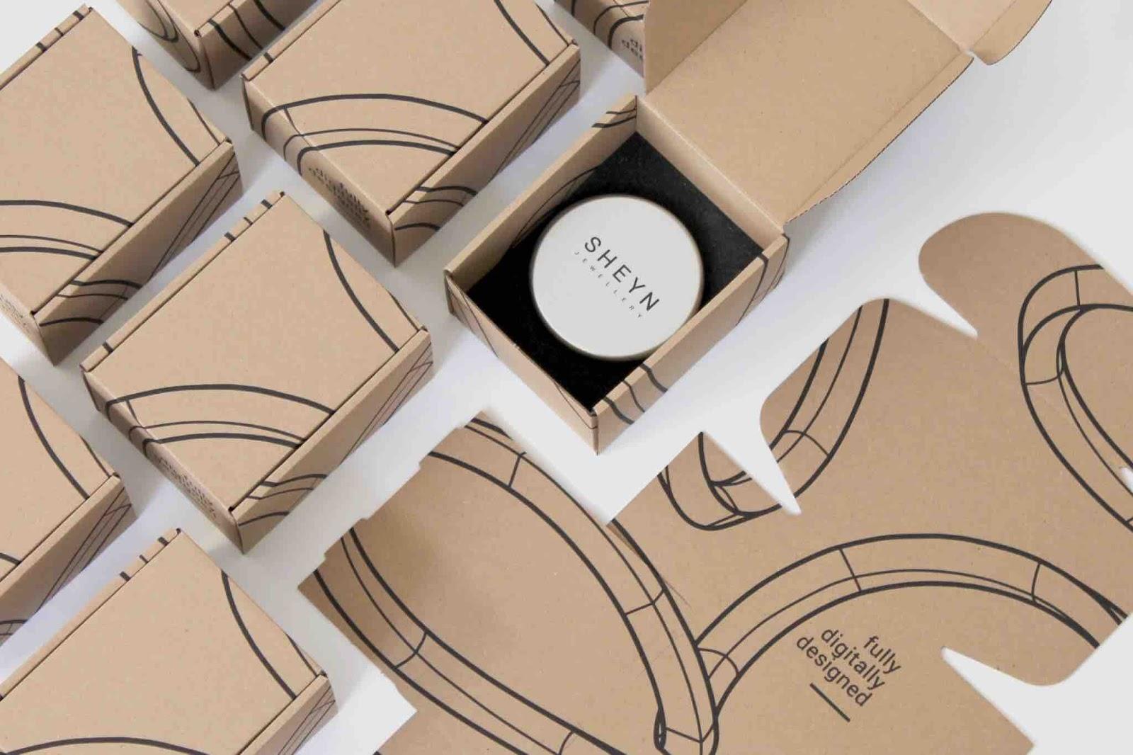 SHEYN packaging