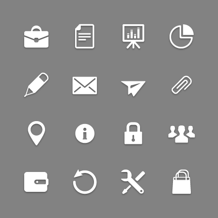 Icon collection for Web and Mobile applications
