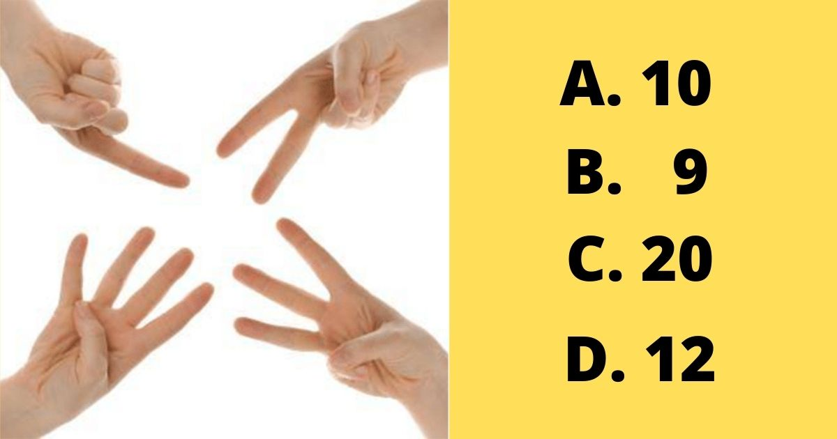 """""""How many fingers are in this picture?"""" puzzle"""