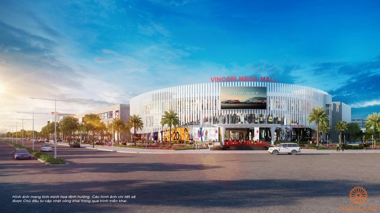 Phối cảnh tổng thể Vincom Mega Mall Vinhomes quận 9