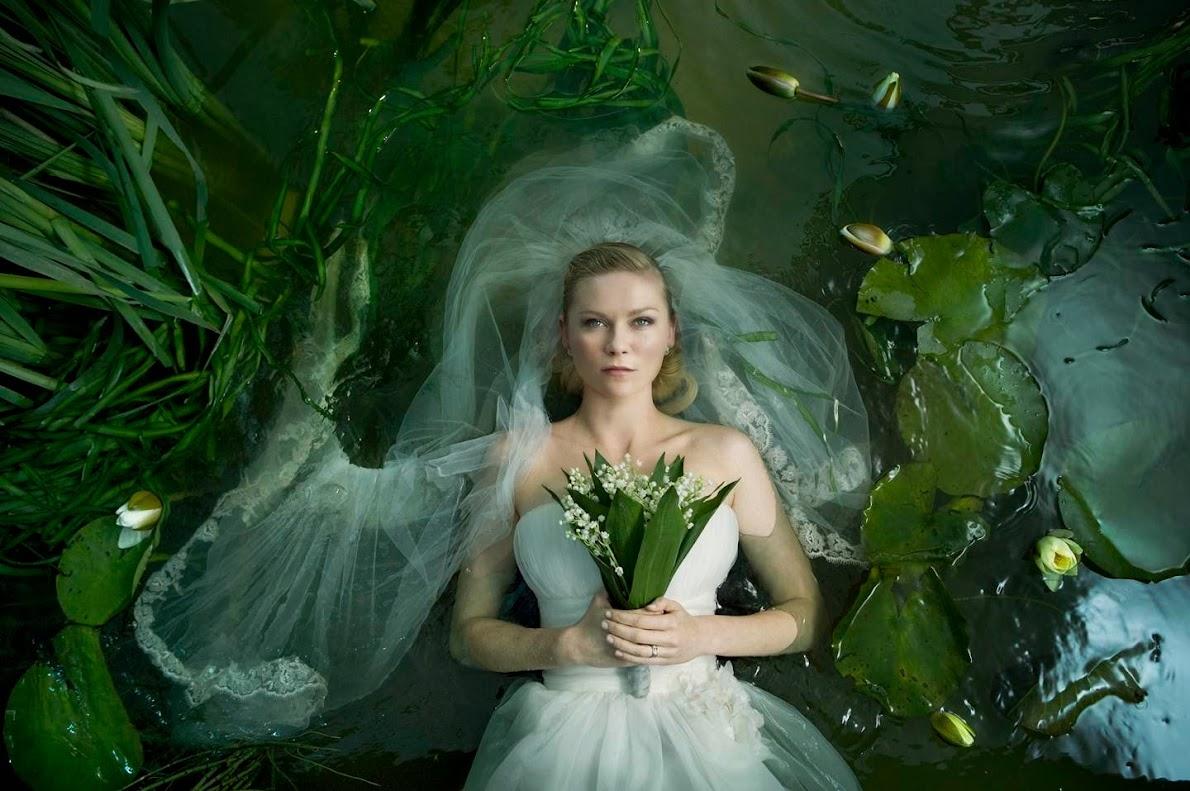 A metáfora de Ofélia no filme Melancholia.