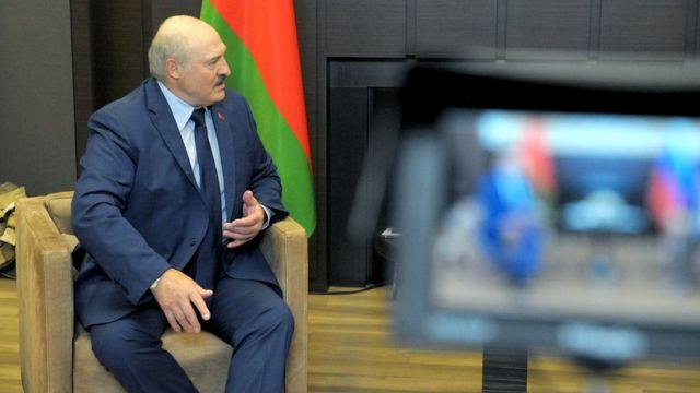 Лукашенко в Сочи