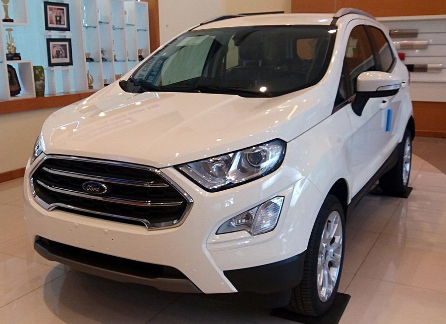 Xe Ford Ecosport được trang bị động cơ siêu bền và bề ngoài mạnh mẽ