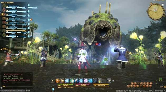Image result for Final Fantasy XIV combat