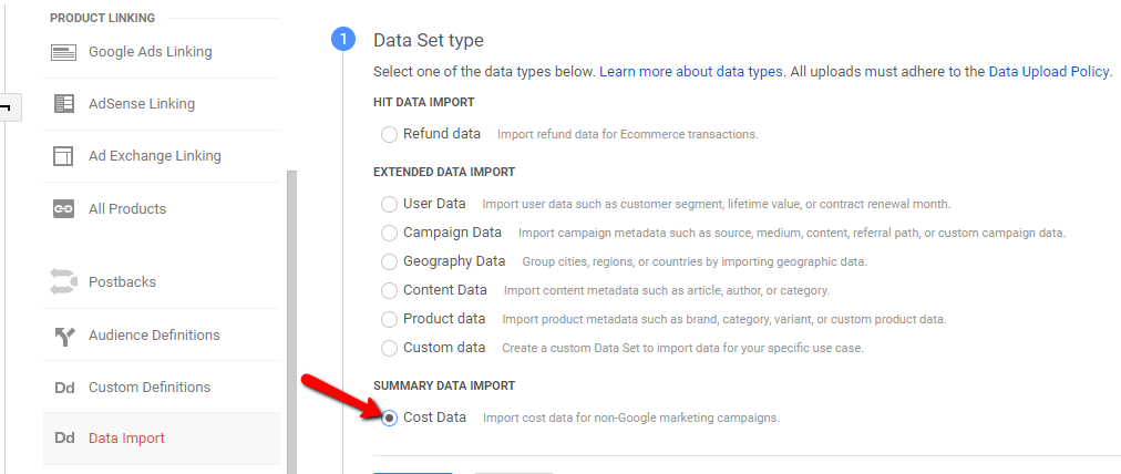 Tracking Facebook Ads in Google Analytics 6