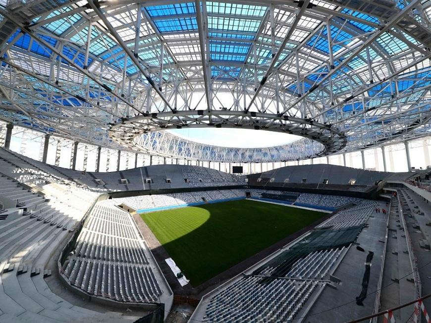 Thiết kế mái sân vận động hiện đại