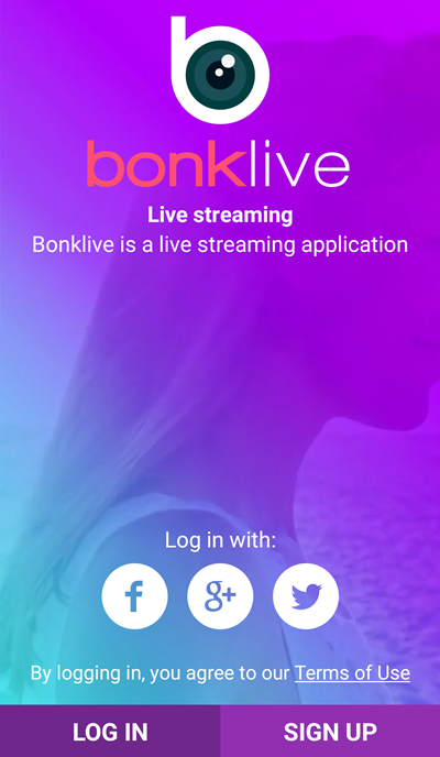 BonkLive App: Make Money by Broadcasting Yourself Online