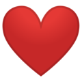 Red Heart on Google Android 8.1
