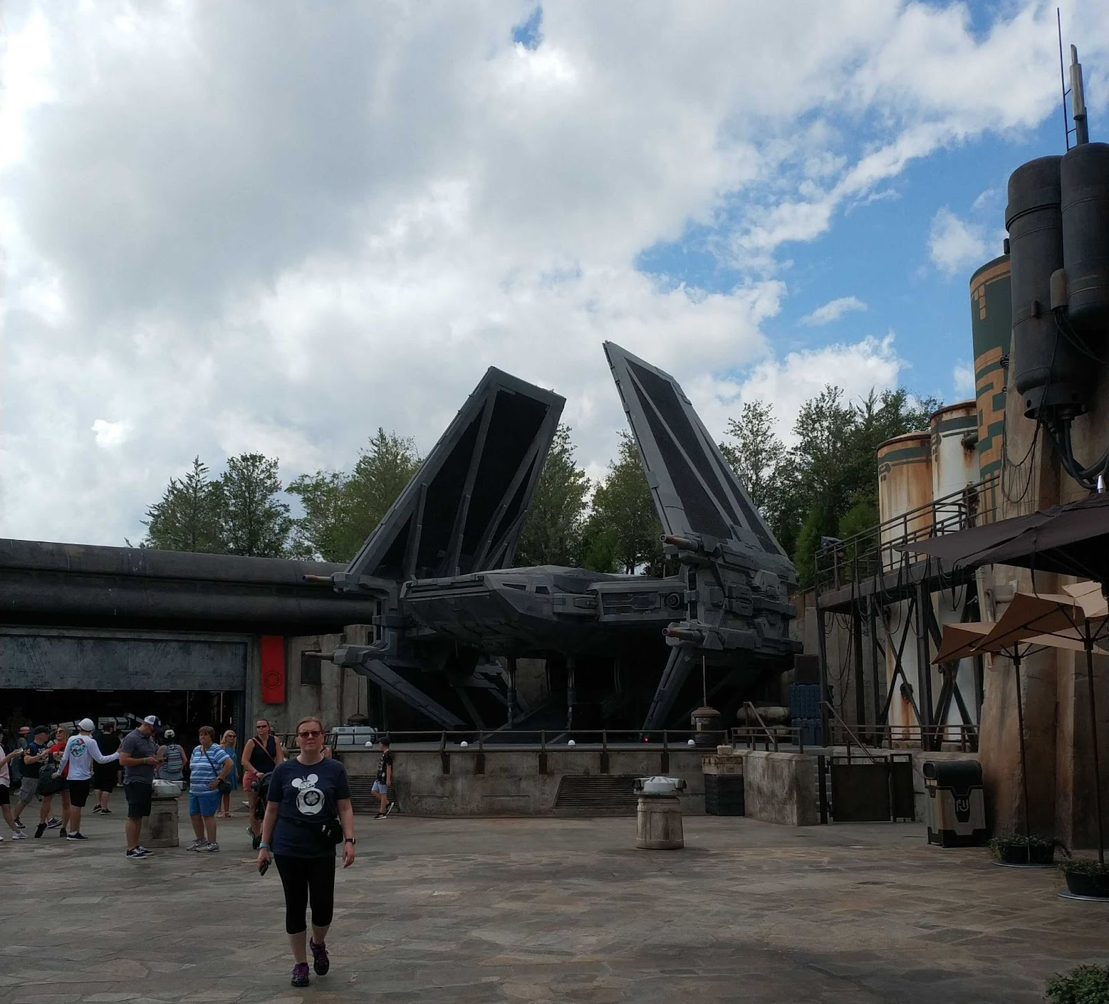 Área Star Wars Disney