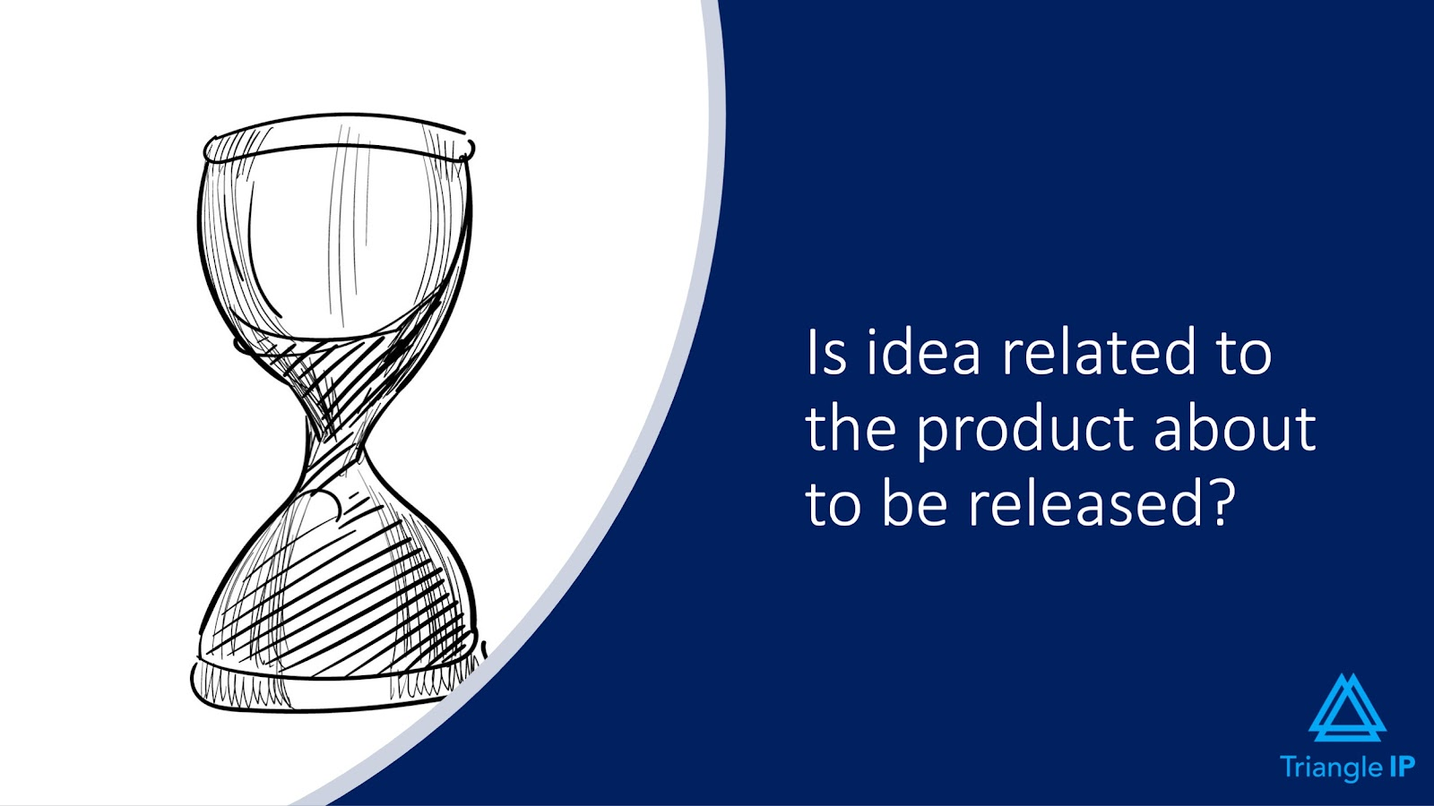 Evaluating Ideas for Patentability | Q3 - Is idea related to the product about to be released?