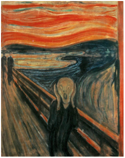 Edvard Munch (1863-1944)  The Scream