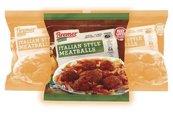 Bremer Italian style Meatballs