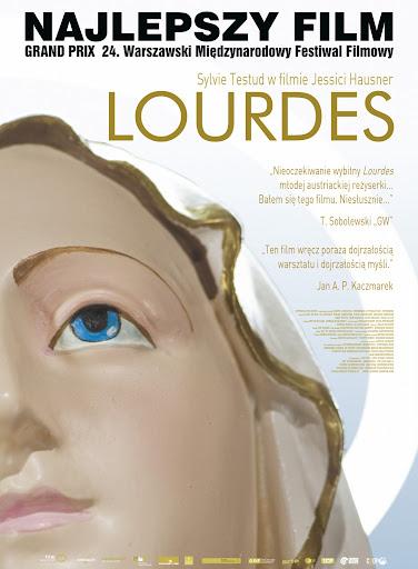 Polski plakat filmu 'Lourdes'