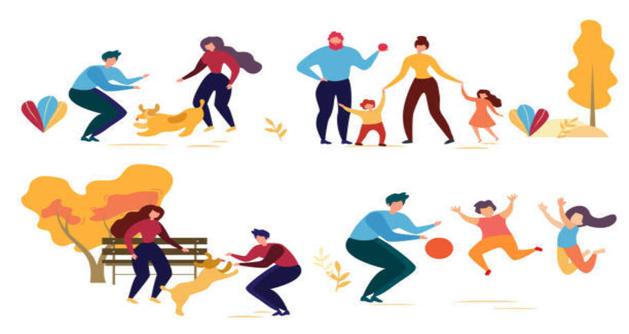 family sports activities helps you enjoy while staying fit