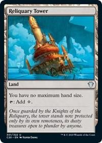 Reliquary Tower, Magic, Commander 2020