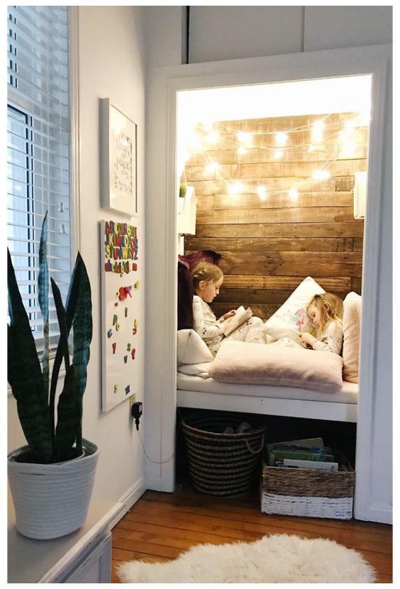 Design A Closet Reading Nook