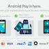 Android Pay says G'day