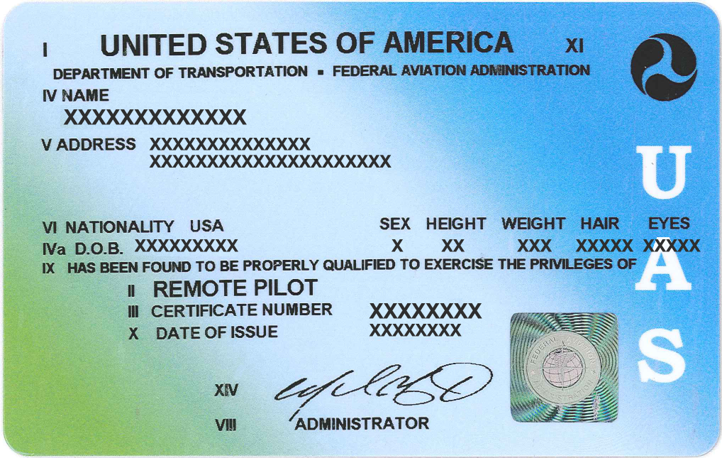 Image result for remote pilot certificate
