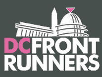 text DC Front Runners with Capitol building graphic