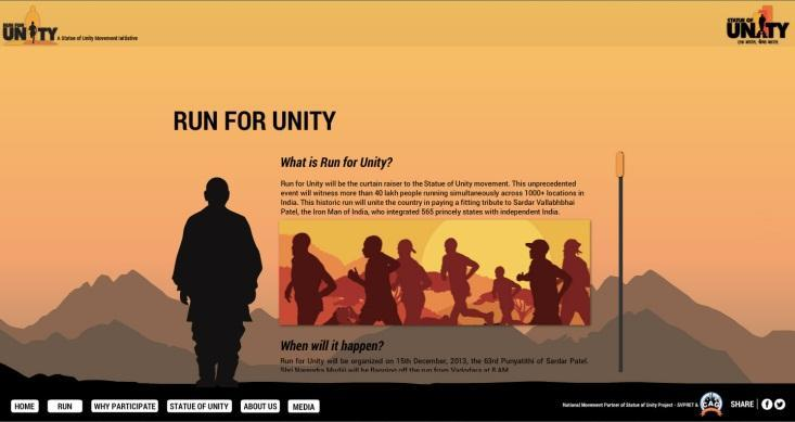 run for unity