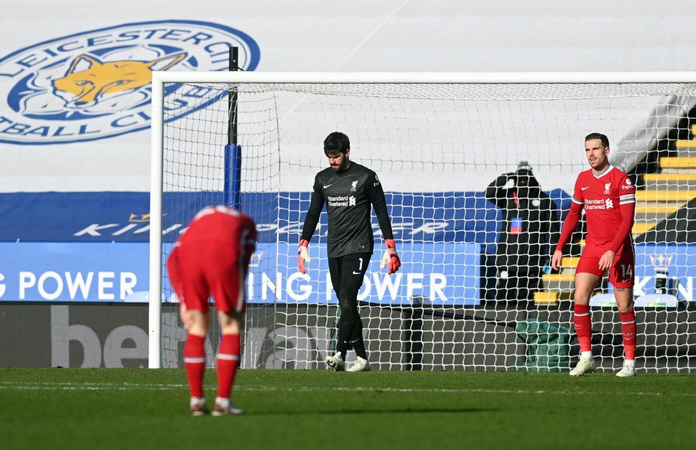 Các cầu thủ Liverpool đang gặp khó khăn về mặt tâm lý