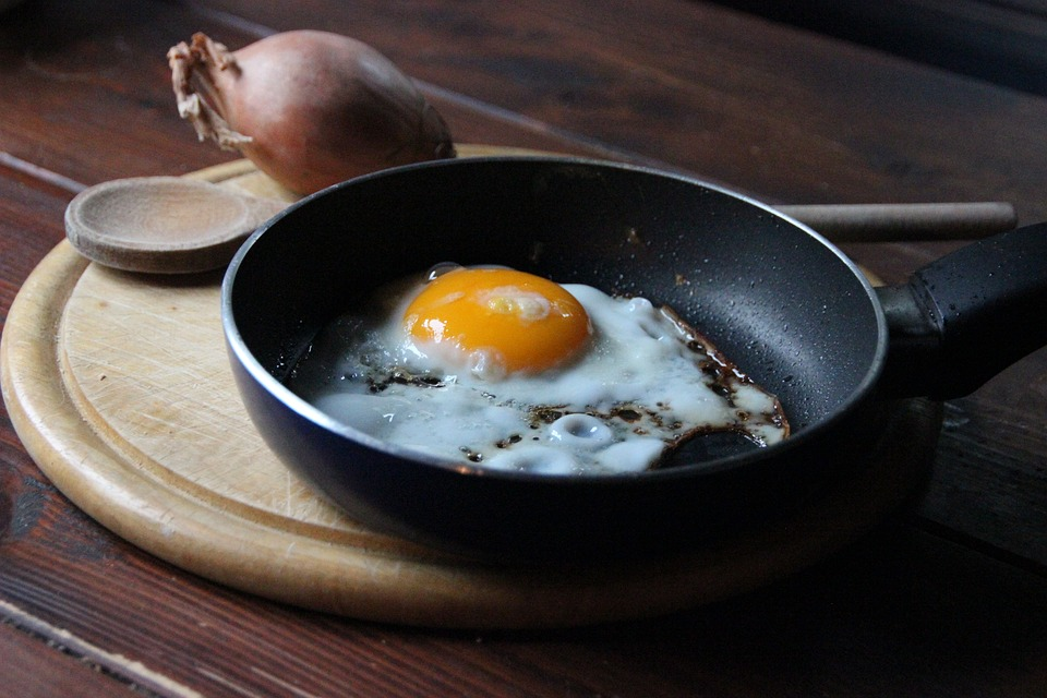 Free photo Fry Fried Yolk Breakfast Egg Frying Pan - Max Pixel