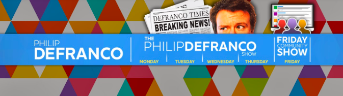 Phillip Defranco's YouTube channel cover