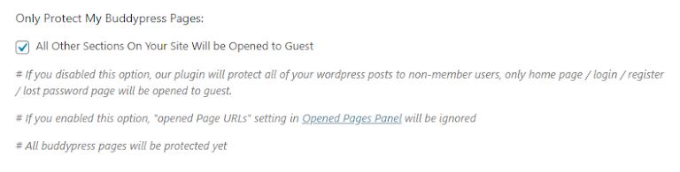 BuddyPress Page