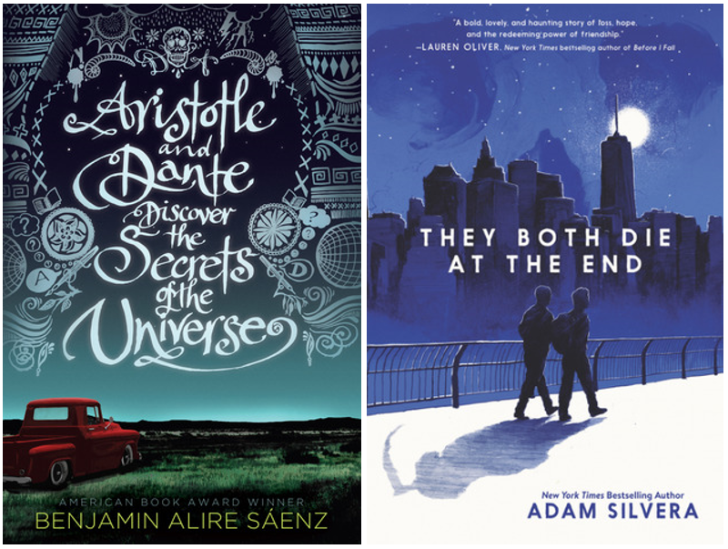 Two LGBT+ books' covers