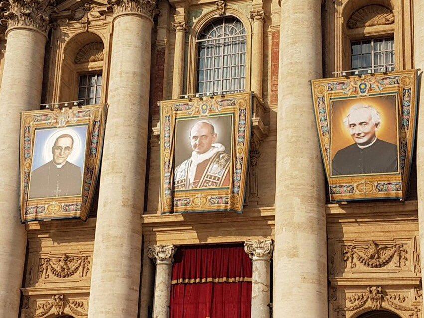 Bài giảng của Đức Thánh Cha trong Lễ Tuyên phong Thánh Đức Phaolo VI, đức Oscar Romero & 5 vị thánh khác (TOÀN VĂN)