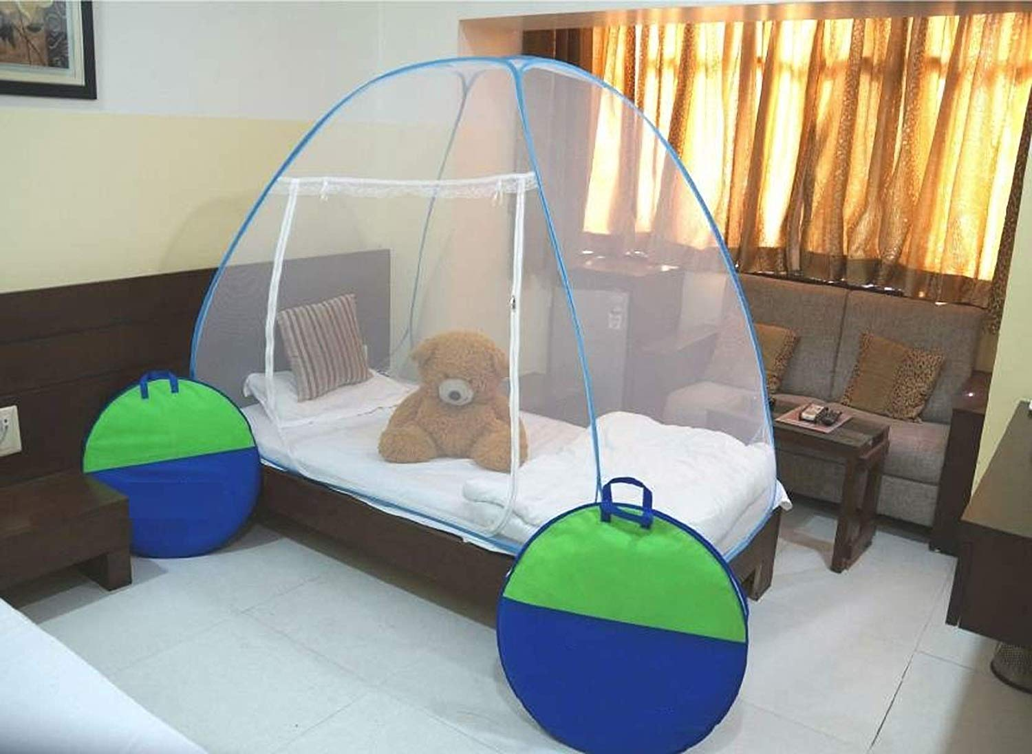 Cratos Single Bed Foldable Mosquito Net