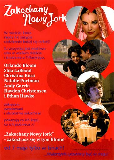 Tył ulotki filmu 'Zakochany Nowy Jork'