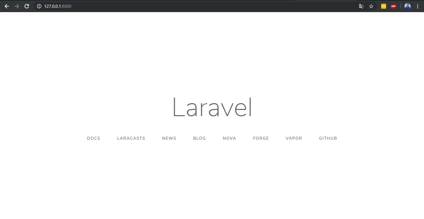 Cara Install laravel di windows